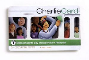 Boston MBTA Charlie card for Sale in Boston, MA
