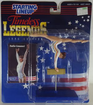 Starting Lineup Timeless Legends Nadia Comaneci Action Figure for Sale, used for sale  Lakewood, WA