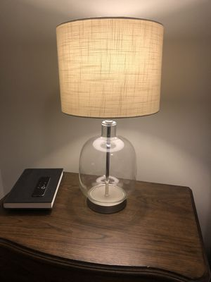 Glass Table Lamp for Sale in Washington, DC