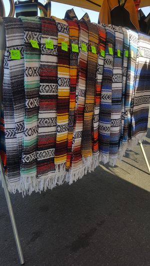 Falsa mexican blanket for your car seat for Sale in Long Beach, CA