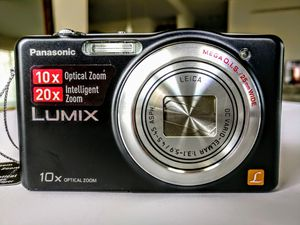 Panasonic Lumix SZ1 16.1 MP Digital Camera with 10x Optical Zoom (Black) for Sale in Houston, TX