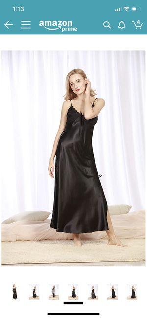 Women's Silk Satin Elegant Long Nightgown for Sale in Carol Stream, IL