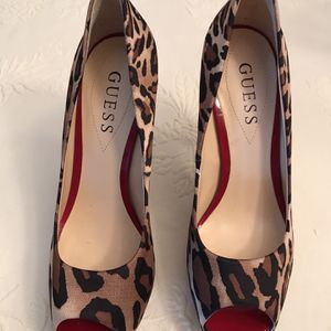 New guess Leopard print high heels for Sale in Fort Lauderdale, FL