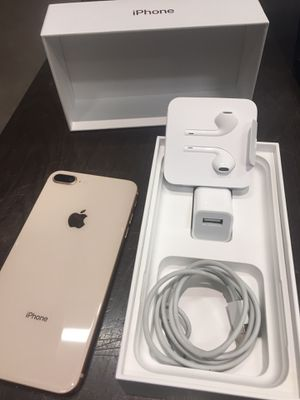 Factory unlocked iPhone 8 Plus 64GB- Rose Gold for Sale in University Place, WA