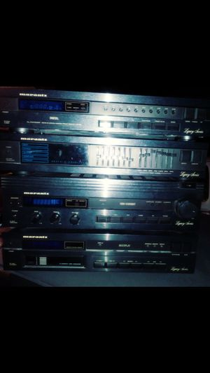 Marantz legacy stereo amp c.d. changer eq system for Sale in San Dimas, CA