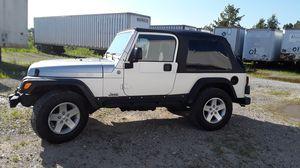 2004 wrangler unlimited (LJ) 118k miles for Sale in Blacklick, OH