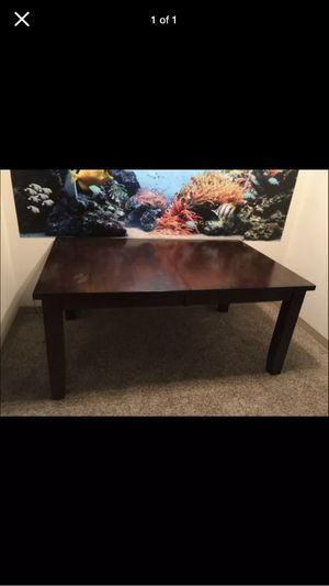 Dining room table with leaf and 4-chairs for Sale in North Royalton, OH