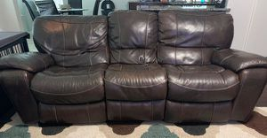 Leather sofa, loveseat, & recliner for Sale in Federal Dam, MN