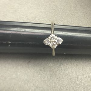 14k white gold diamond ring size 6.5 for Sale in Baltimore, MD