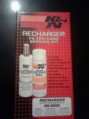 K&N recharged filter care service kit for Sale in Cleveland, OH