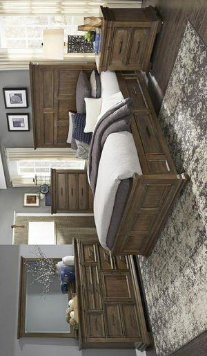 ☄Shock price☄Narcine Rustic Brown Storage Platform Bedroom Set for Sale in Jessup, MD