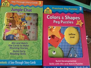 3+ activities/games/puzzles for Sale in Harrisburg, PA