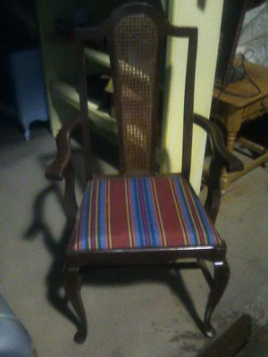 Accent chair wood antique for Sale in Fresno, CA