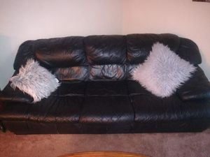 Leather couch for Sale in Versailles, KY