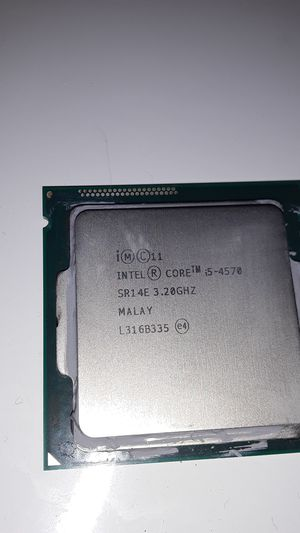 Intel® Core™ i5-4570 Processor (6M Cache, up to 3.60 GHz) for Sale in Los Angeles, CA