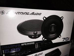Lightning audio 5.25 coaxial speakers for Sale in Washington, DC