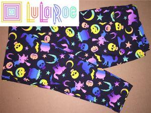 LuLaRoe TC Leggings Halloween Rainbow for Sale in Creve Coeur, IL