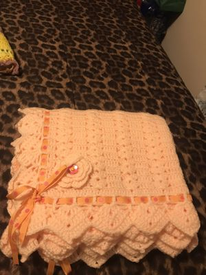 Baby's blanket a crochet for Sale in Paramount, CA