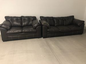 2 piece couches for Sale in Goodyear, AZ