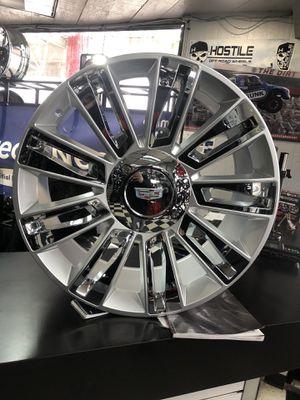 "22"" Cadillac Escalade Platinum Wheels for Sale in Warren, MI"