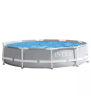 Intex 26701EH 10ft x 30in Prism Metal Frame Swimming Pool with FILTER for Sale in Allentown, NJ