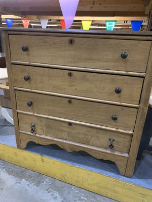 "Distressed wood dresser...37"" high and 38"" wide for Sale in Gaithersburg, MD"