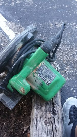 Hitachi electric saw for Sale in Austin, TX