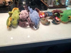 Sea and reptile beanie babies for Sale in Covington, WA