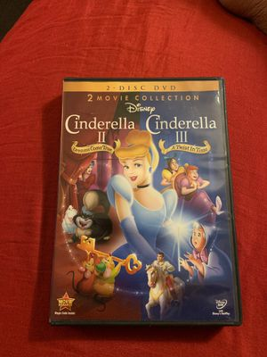 Cinderella I/II -DVD for Sale in Detroit, MI