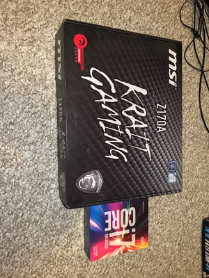 Mobo (CPU is sold) for Sale in Glendale, AZ