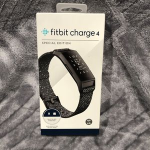 Brand New And Sealed. Fitbit Charge 4 Granite Reflective Woven Advanced Fitness Tracker for Sale in Cerritos, CA