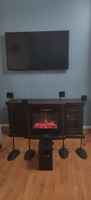 BOSE Accoustimass 6 Home Theater Speaker System with 5 Speakers Subwoofer and Stands for Sale in Springfield, VA