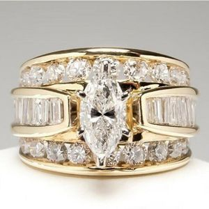 Stunning White Sapphire Marquise Cut Wedding Ring Sizes6 - 10 *See My Other 300 Items* for Sale in Palm Beach Gardens, FL