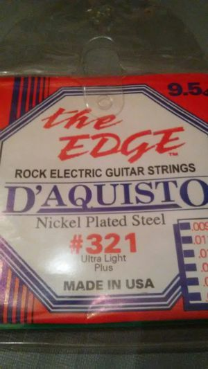 D'Aquisto # 321 NICKEL PLATED GUITAR STRING S for Sale in Arcadia, CA
