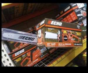 "ECHO CS-490 20"" BAR 50.2 CC ENGINE CHAINSAW for Sale in San Bernardino, CA"