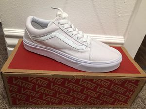 Shoes VANS 6.5 and 7.0 women and 5.5 men for Sale in Los Angeles, CA