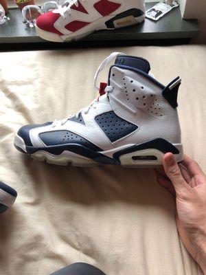 """Jordan retro 6 """"Olympic 6's"""" size 9.5 for Sale in Nashville, TN"""