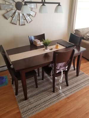 Dining Room table + 4 chairs for Sale in Morgantown, WV