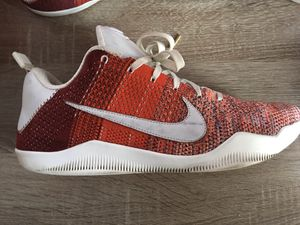 """Kobe 11 elite """"Red Horse"""" size 11 for Sale in Los Angeles, CA"""