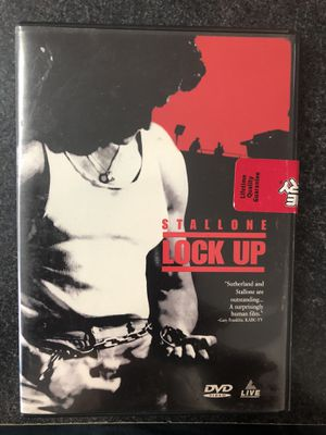 Stallone Lock Up DVD - used for Sale in Griswold, CT