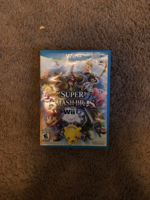 Super Smash Bros for Wii U (Smash 4) for Sale in San Antonio, TX