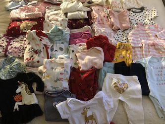 60 Pieces Baby Clothing for Sale in Hayward,  CA
