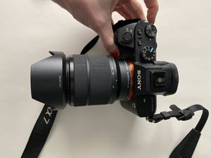 Sony blue tooth WiFi digital camera A7ii for Sale in Victorville, CA