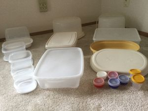 Tupperware, Rubbermaid, Micro Buddy Steamer, Miscellaneous Storage Containers for Sale in Tacoma, WA