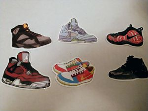 Nike and Jordan stickers lot for Sale in Newport News, VA