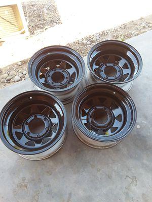 6 lug 15 inch toyota rims for Sale in Fresno, CA