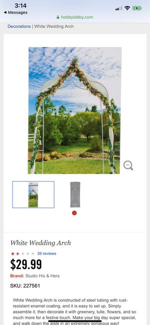 Wedding Arch for Sale in Washington, DC