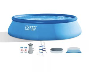 Intex 26165EH 15ft x 42in Easy Set Up Inflatable Above Ground Swimming Pool Set for Sale in San Diego, CA