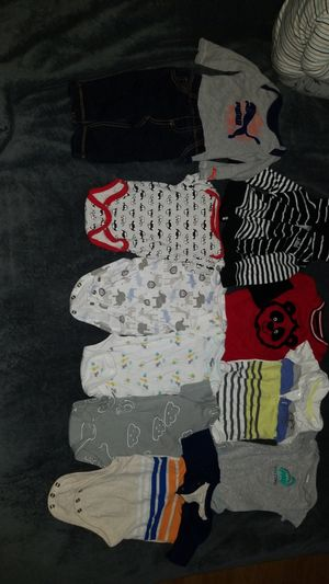 0-3 month boy cloths for Sale in Everett, WA