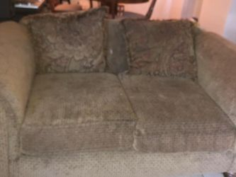 Sofa And Loveseat Set (NEEDS TO GO) for Sale in Houston,  TX